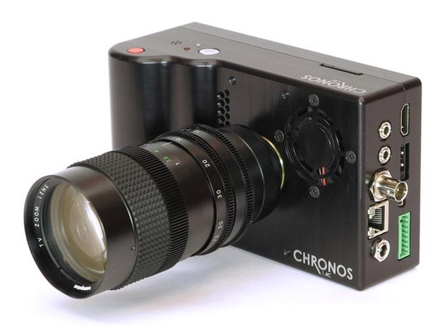 Скоростная камера Chronos (до 21500 fps) собрала финансирование на Kickstarter'е за пять часов