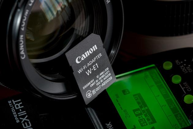 Обзор Wi-Fi адаптера Canon W-E1