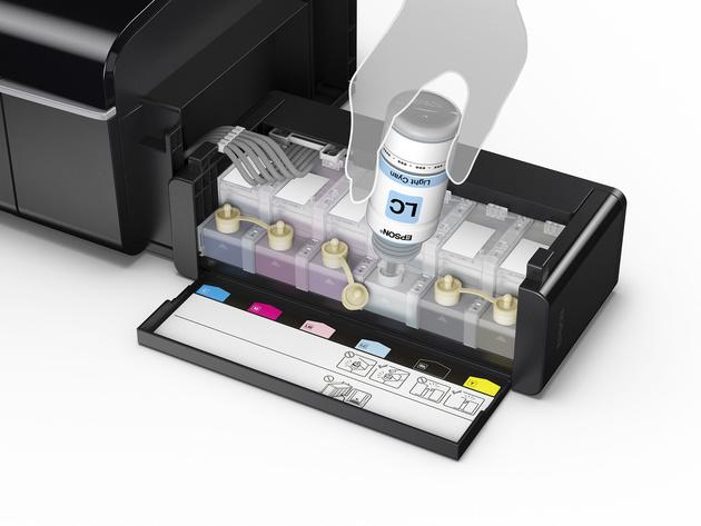 Тест принтера Epson L805