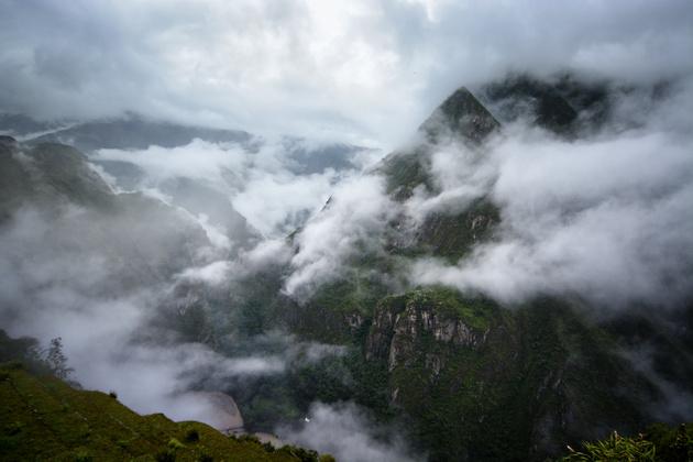Мачу-Пикчу. Затерянный в облаках город инков
