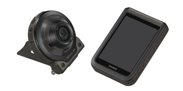 Casio EX-FR110H – экшн-камера 1,9 Мп для съемки при низком освещении