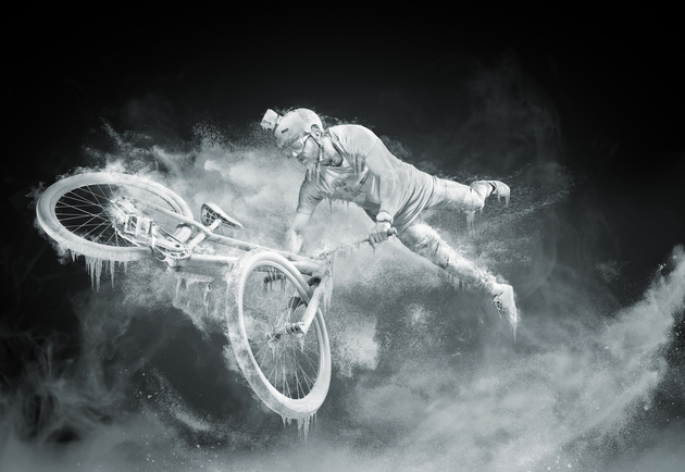 Фотопроект Frozen. Эффект заморозки в кадре