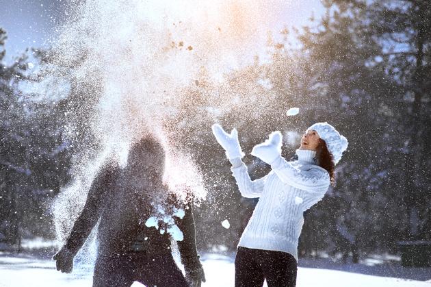 Как снимать Love story в зимнем лесу