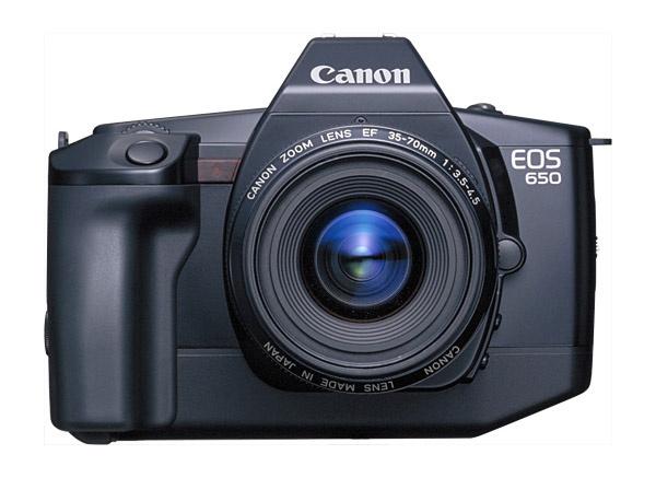 Canon празднует 30-ю годовщину системы EOS