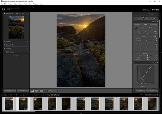 Обрабатываем пейзаж в Adobe Lightroom. 6 шагов