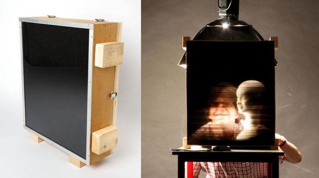 Камера, сделанная из 32000 соломинок для коктейля