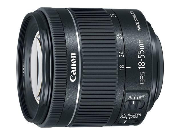 Объектив Canon EF-S 18-55mm F4-5.6 IS STM и пульт ДУ BR-E1
