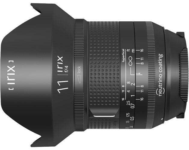 Ультраширокоугольный объектив Irix 11mm f/4 с углом зрения 126° и минимальной дисторсией