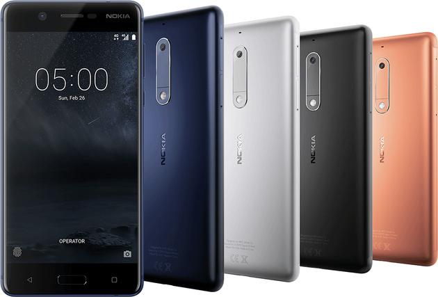 Nokia 3310 возвращается: в Барселоне представили смартфоны Nokia 3, Nokia 5 и Nokia 6, а также возродили легендарную 3310