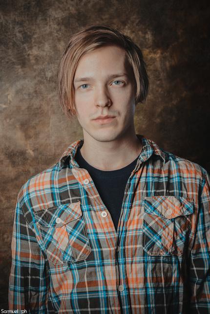 Съёмка мужского портрета в студии. Три простые световые схемы