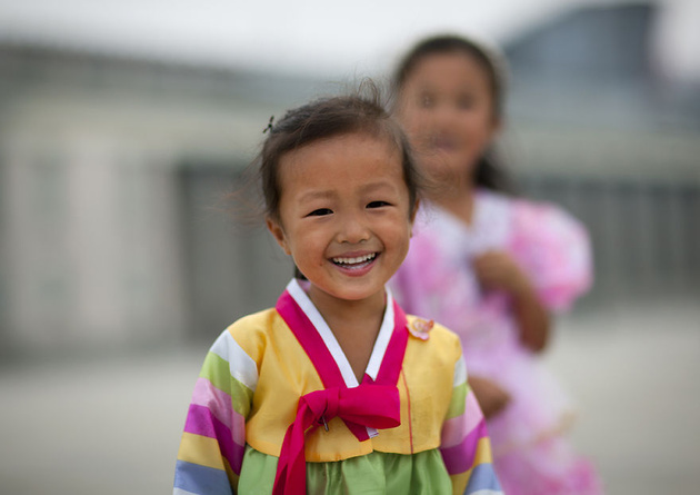Эрик Лаффорг: улыбки Северной Кореи