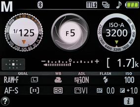 Съёмка с Авто-ISO