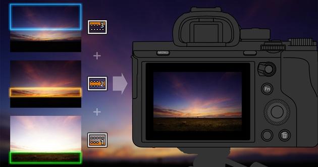 Новое приложение Sony «Цифровой фильтр» – внутрикамерный градиент и даже больше