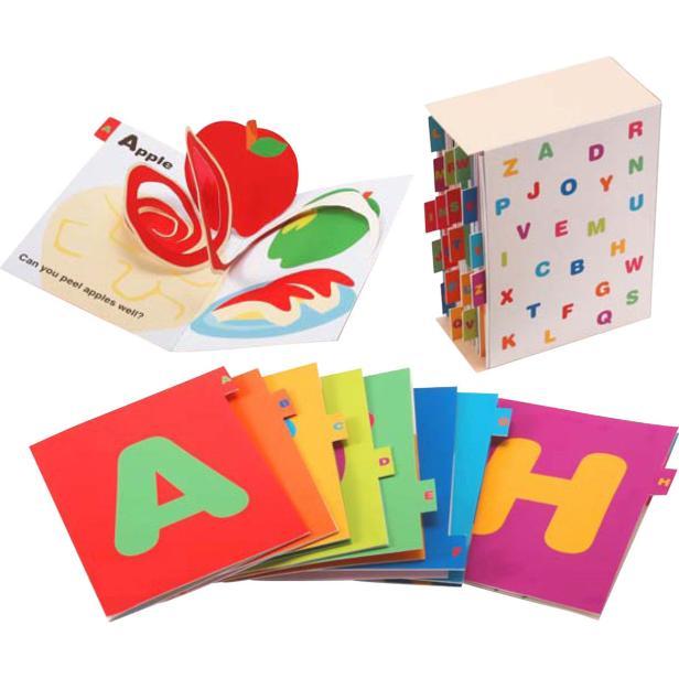 Книжка малышка английский алфавит своими руками распечатать готовую