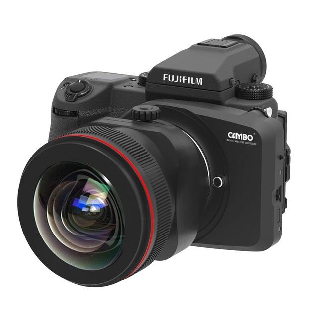Адаптер Cambo CA-GFX – ставим объективы Canon EF на среднеформатную Fujifilm GFX