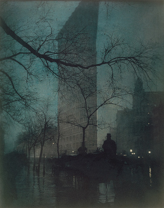 The Flatiron. Фото Эдварда Штайхена, 1904 г. © <a href='http://www.metmuseum.org'>Edward Steichen / 2000–2007 The Metropolitan Museum of Art</a>
