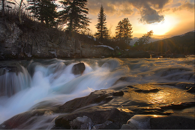 Castle Falls HDR © Larsthrows
