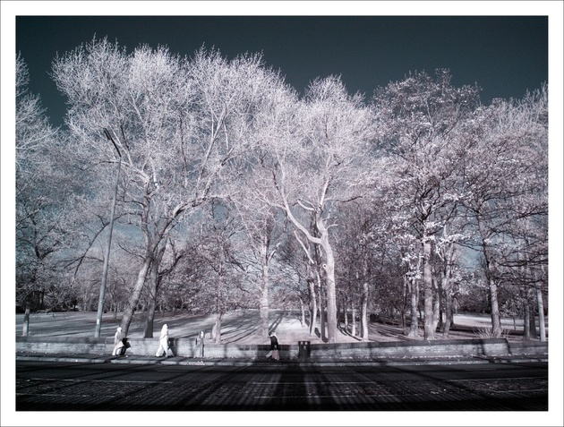 Crossflatts Park, Leeds (Infra-Red) © photo zoom