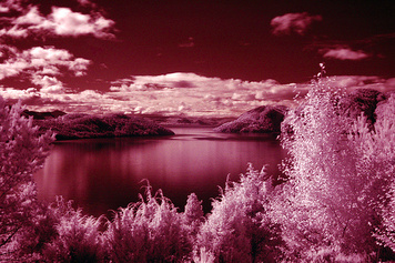 "Samnangerfjorden (Infra Red) © <a href=""http://www.flickr.com/photos/richardhawkes/236104316/"">richardhawkes</a>"