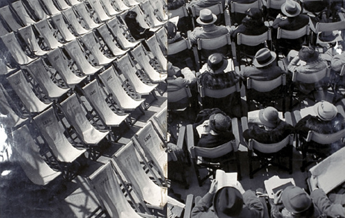 «Chairs at Margate». Фото Ласло Мохой-Надя, 1935 г. © László Moholy-Nagy / 1999 George Eastman House, Rochester, NY