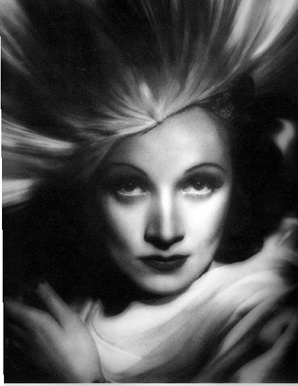 Фото Джорджа Харрелла, Марлен Дитрих  © George Hurrel