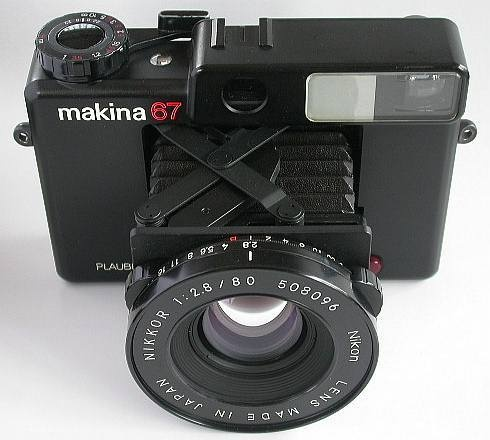 Plaubel Makina 67  © www.so-net.ne.jp
