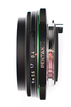 SMC Pentax DA 40mm f/2,8 Limited