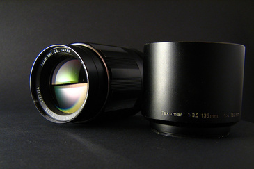 Super-Multi-Coated Takumar 3.5/135mm. © zedworks