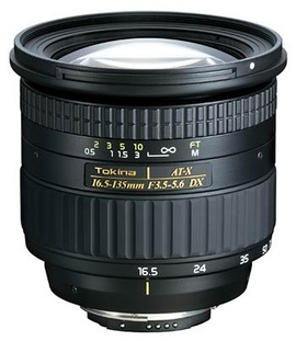 Tokina AT-X 16,5-135 мм DX