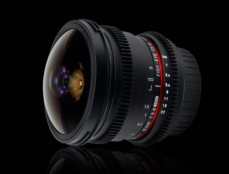 Объектив для видеографов Samyang 8mm T3.8 AS IF UMC Fish-eye CS II VDSLR Canon EF