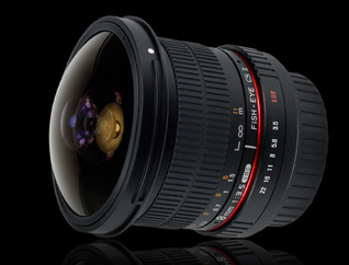 Samyang 8mm f/3.5 AS IF UMC Fish-eye CS II AE