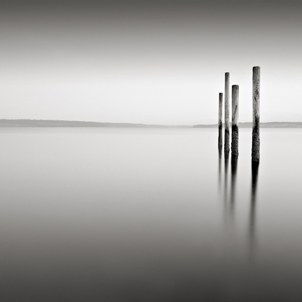 Four Poles, Port Townsend, Washington. © David Fokos