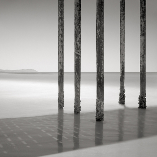 Long Poles, San Simeon, California. © David Fokos