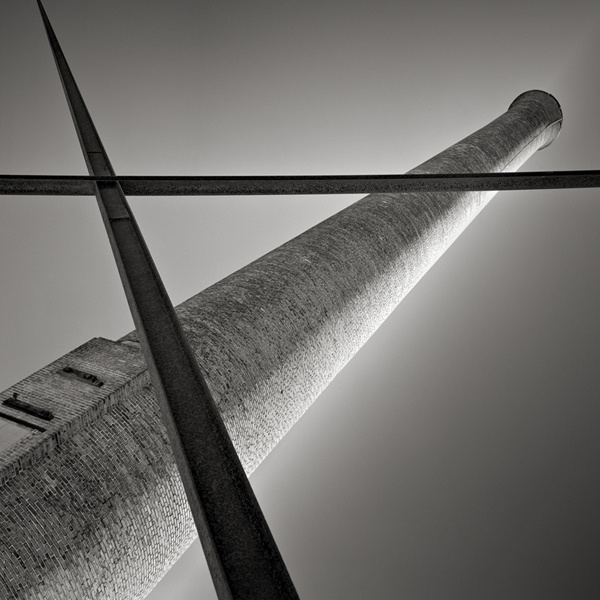 Smokestack, Fall River, Massachusetts. © David Fokos
