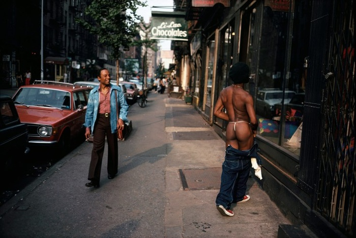 Joel Meyerowitz. Greenwich Village, New York City, 1974