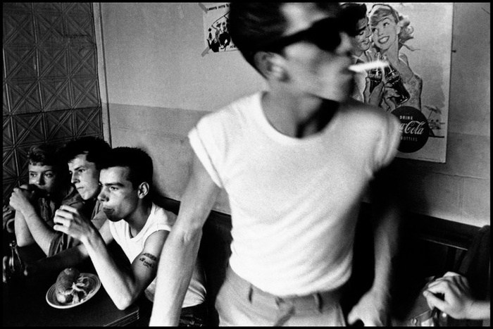 Bruce Davidson. USA. New York City. 1959. Brooklyn Gang