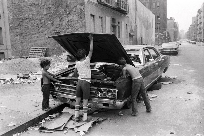 Martha Cooper. Lower East Side, New York City, 1978