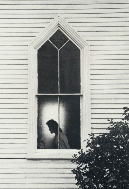 George Krause, Church window, Maine, 1963