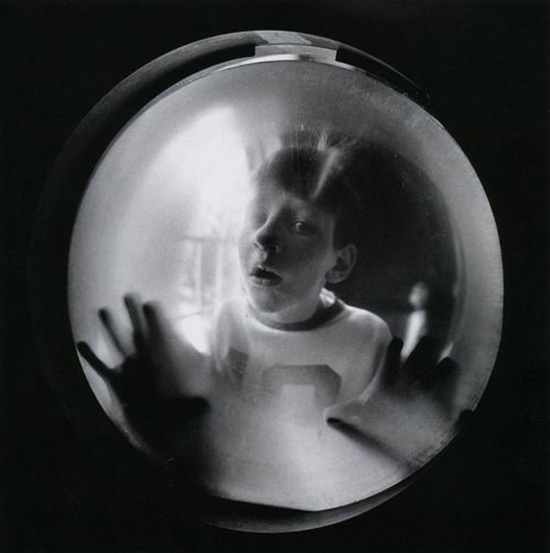 Arthur Tress, Boy Looking Through Window, 1970