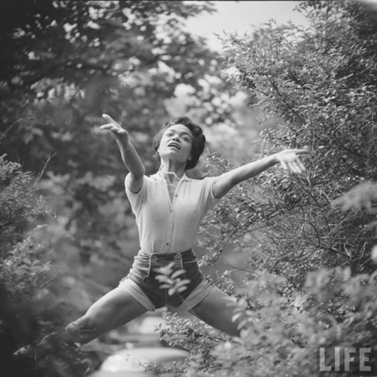 Eartha Kitt by Gordon Parks, June 1952