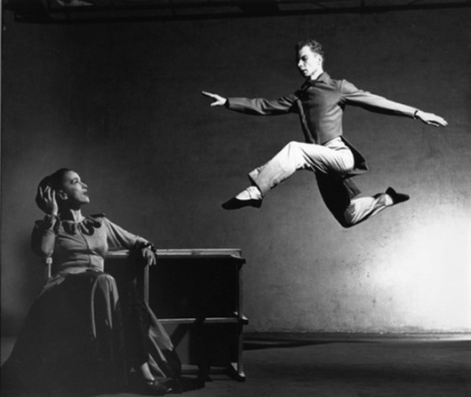 Philippe Halsman, Merce Cunningham and Martha Graham, 1947