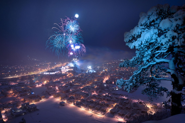 Happy new year © Stefan Thailer. Куфштайн, Австрия