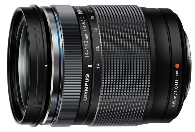 Olympus M.Zuiko Digital ED 14-150mm 1:4.0-5.6 II – новая версия