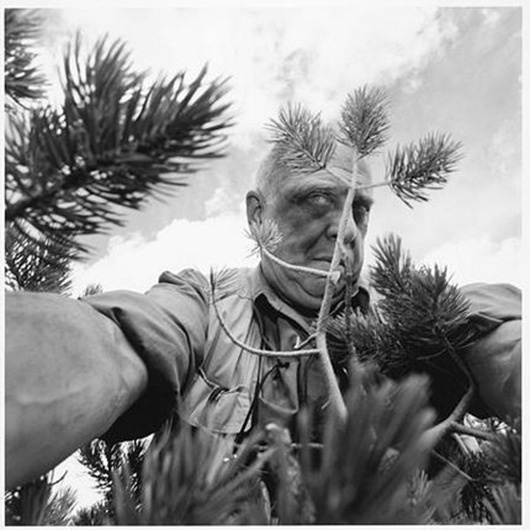 Lee Friedlander's Self Portrait