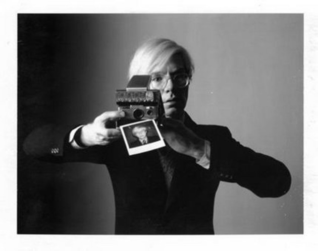 Andy Warhol by Oliviero Toscani (1974)