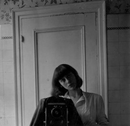 © Diane Arbus, Self-portrait, 1945