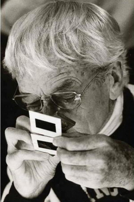 Jacques-Henri Lartigue by uncredited photographer, 1980