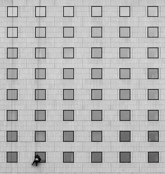 The Window Washer © Nikolay Nikolov