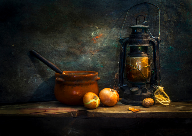 Onion soup © Mostapha Merab Samii
