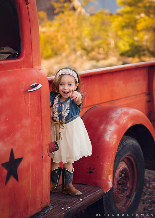 Little Cowgirl © Lisa Holloway